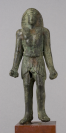 Figurine (falsification ?), Personnage masculin, Antinoüs (?)