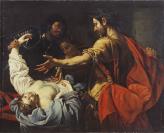 École française, auteur, Peter Paul Rubens (Siegen, 1577 — Anvers, 1640), ancienne attribution, Luca Ferrari (Reggio Emilia, 1605 — Reggio Emilia, 1654), d'après, Valentin de Boulogne (Coulommiers-en-Brie, 1591 — Rome, 18/08/1632), ancienne attribution, Auteur inconnu