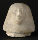 Canope, élément, Vase au nom de Hor-Ouahibrê (couvercle à tête humaine)