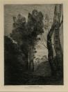 Jean-Baptiste Camille Corot (Paris, 1796 — Ville-d'Avray, 1875), auteur, Auguste Delâtre, Paris (1822 — 1907), imprimeur, Cadart et Luquet (Société des Aquafortistes), Paris, éditeur
