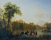 Jean Huber (Chambésy (Genève), 1721 — Lausanne, 1786), ancienne attribution, Jean-Daniel Huber (Genève, 09/10/1754 — Genève, 31/01/1845)
