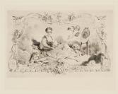 Charles Chaplin (Les Andelys, 1825 — Paris, 1891), Félix Bracquemond (Paris, 1833 — Paris, 1914), graveur