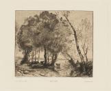 Félix Bracquemond (Paris, 1833 — Paris, 1914), graveur, Jean-Baptiste Camille Corot (Paris, 1796 — Ville-d'Avray, 1875), Gazette des Beaux-Arts, éditeur, Auguste Delâtre, Paris (1822 — 1907), imprimeur