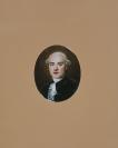 Petit portrait sur émail, Portrait d'inconnu ( ou autoportrait ?)<br />Jacques Thouron (Genève, 06/03/1740 — Paris, 13/03/1789), peintre sur émail