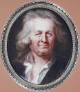 Petit portrait sur émail, Portrait de vieillard<br />Jacques Thouron (Genève, 06/03/1740 — Paris, 13/03/1789), ancienne attribution, Jean-Baptiste Weyler (Strasbourg, 03/01/1747 — Paris, 25/07/1791), peintre sur émail