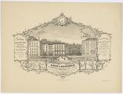 Henri-Paul Boissonnas (Genève, 24/06/1894 — Zurich, 06/08/1966), graveur, Pilet & Cougnard (1836), lithographe