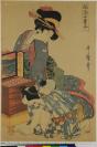 Kitagawa Utamaro 喜多川 歌麿 (Kawagoe (Saitama prefecture, Kanto), 1753 — Tokyo, 1806), auteur, Izumiya Ichibei 和泉屋 '和泉市' 市兵衛(甘泉堂), éditeur