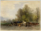 Jacques Dunant (Genève, 22.08.1825 — Genève, 29.08.1870), dessinateur