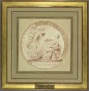 Jean Duvivier (Liège, 1687 — Paris, 1761), médailleur, Edme Bouchardon (Chaumont, 1698 — Paris, 1762)