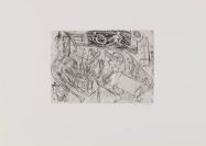 Kupferdruckatelier Peter Kneubühler, Zürich, imprimeur, Martin Disler (Seewen, 1949 — Genève, 1996), auteur, René Steiner Verlag (Erlach), éditeur