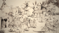 Vignette 1 - Titre : Les sept péchés capitaux