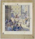 Edouard Elzingre (Neuchâtel, 02.07.1880 — Genève, 04.07.1966), dessinateur