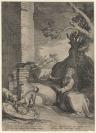 Abraham Bloemaert (Gorinchem, 1566 — Utrecht, 1651), Jan Saenredam (Zaandam, 1565 — Assendelft, 1607), graveur
