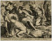 Agostino Carracci (Bologne, 1557 — Parme, 1602), graveur, Jacopo Tintoretto (Venise, 1518 — Venise, 1594)