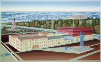 Vignette 3 - Titre : Kugler 360°, façade sud-est [série