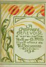 Fritz Eggler (vers 1871 — 1923), graphiste, Guillaume Fatio (Genève, 11/09/1865 — Genthod, 04/06/1958), auteur du texte, Polygraphisches Institut A.G. (Institut Polygraphique), imprimeur, Carl (Charles) Gollhard, photographe, François Frédéric dit Fred Boissonnas (Genève, 18/06/1858 — Genève, 17/10/1946), photographe