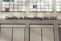 Vignette 1 - Titre : Quality In Everything We Did