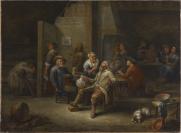 Joos Craesbeeck (Neerlinter, vers 1606 — Bruxelles, vers 1654), ancienne attribution, Jan Miense Molenaer (Haarlem, vers 1610 — Haarlem, 1668), ancienne attribution, Gillis II van Tilborgh (Bruxelles, 1625 — Bruxelles, 1678)