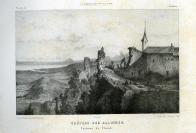 Gabriel Loppé (Montpellier, 02/07/1825 — Paris, 1913), dessinateur, Champod, lithographe, J. Perrin, éditeur