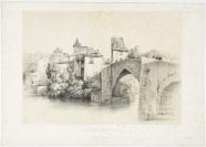 Frédéric-François d' Andiran (Nantes ou Bordeaux, 1802 — Lausanne, 1876), dessinateur, lithographe, Imp. Lemercier, Benard & Cie., imprimeur