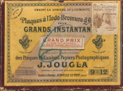 Société anonyme des plaques pellicules & papiers photographiques J. Jougla, Fred Boissonnas. Produits et appareils pour la photographie