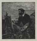 Paul Joseph Leyat (Rue, 1870 — France, 1955), graveur, Ernest-Ange Duez (France, 1843 — ?, 1896)