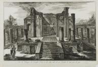 Giovanni Battista Piranesi (Mozano di Mestre, 1720 — Rome, 1778), Francesco Piranesi (Rome, 1758 — Paris, 1810), graveur
