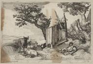 Abraham Bloemaert (Gorinchem, 1566 — Utrecht, 1651), Pierre Drevet (Loire-sur-Rhône, 1663 — Paris, 1738), éditeur, Boetius Adams Bolswert (Bolsward (Friesland), 1580 — Anvers, 1633), Frederik Bloemaert (1616 — 1690), graveur