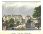 Fähnlein, graveur, Jean DuBois (Genève, 1789 — Mornex, 1849), Godefroy Engelmann (Mulhouse, 1788 — Mulhouse, 1839), lithographe