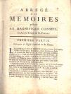 Conseil de Genève, commanditaire, Gabriel Cramer (Genève, 1704 — Bagnols, 1752), auteur, Jean-Louis Calandrini (1677 — 1718)