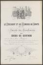 Jules Hébert (Genève, 1812 — Genève, 1897), lithographe, Adolphe Gandon (Nîmes, 1828 — Courgenay, 1889)