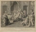 Louis Surugue (Paris, vers 1686 — 1762), éditeur, Charles-Antoine Coypel (Paris, 1694 — Paris, 1752), Bernard Lépicié (Paris, 1698 — Paris, 1755), graveur et éditeur