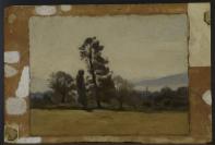 Jean-Baptiste Camille Corot (Paris, 1796 — Ville-d'Avray, 1875), attribution incertaine, Barthélemy Menn (Genève, 1815 — Genève, 1893)