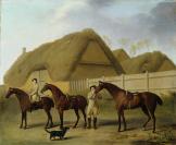 Jacques-Laurent Agasse (Genève, 1767 — Londres, 1849), ancienne attribution, George Stubbs (Liverpool, 1724 — Londres, 1806)