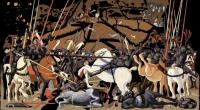 Vignette 4 - Titre : La Bataille de San Romano