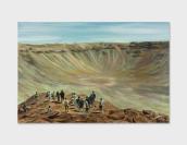 Vignette 5 - Titre : Barringer Meteor Crater I, Arizona [série