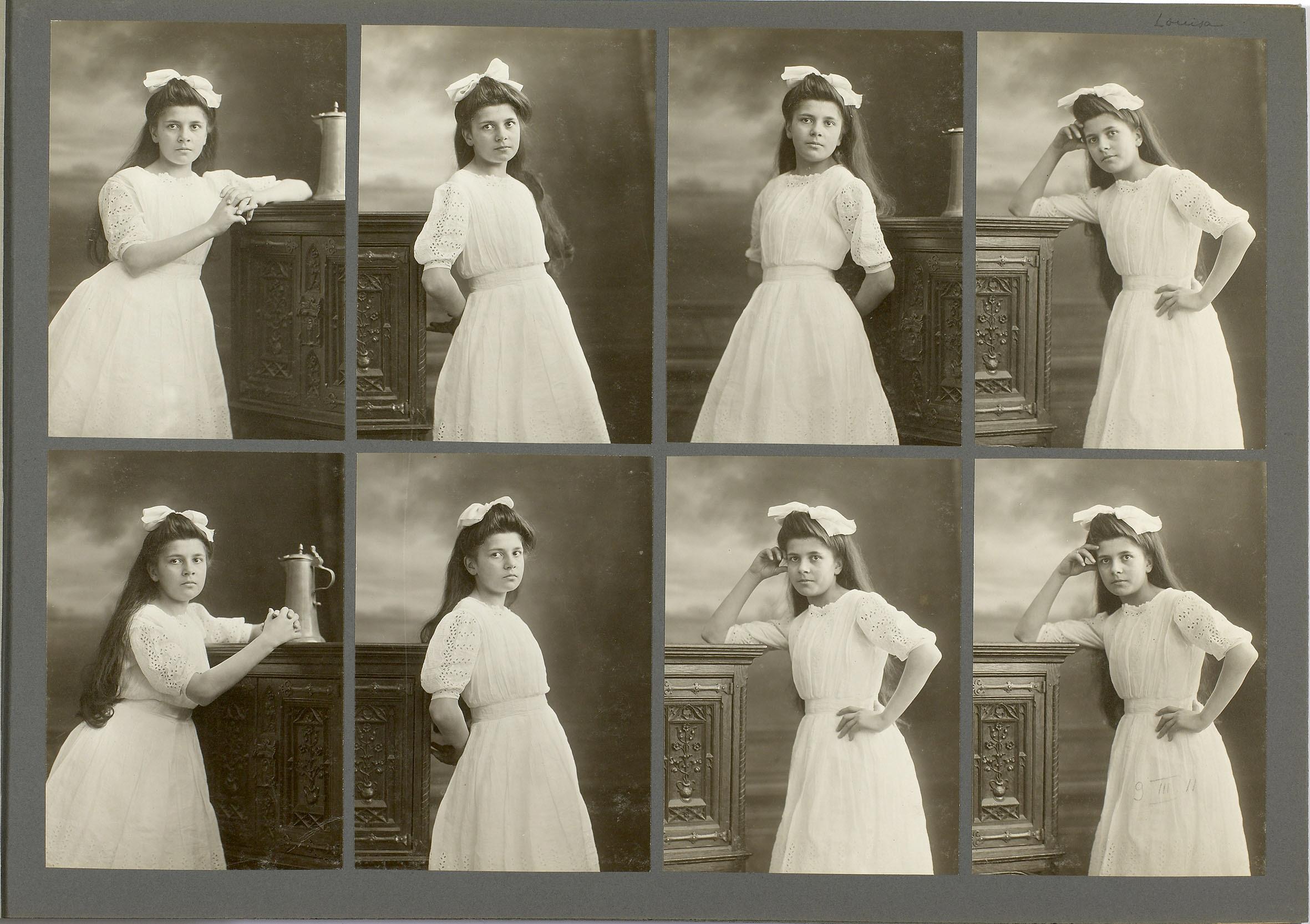 Photographies de l'album Boissonnas 1911-1912