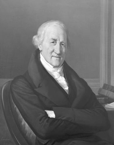 Portrait de Pierre Prevost (1751-1839), physicien, littérateur et philosophe genevois, professeur à l'Académie, recteur de 1796 à 1798