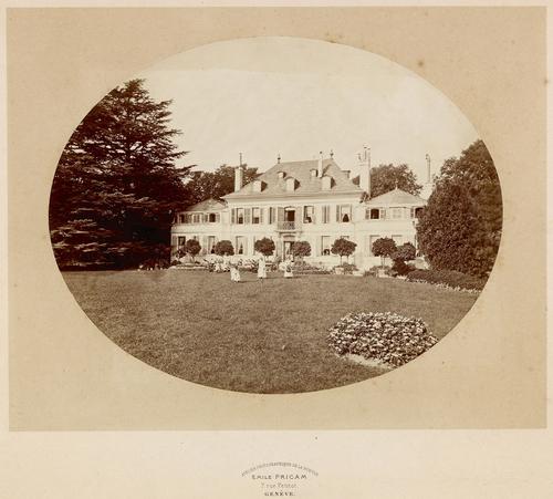 Genève, la maison Chauvet à Beaulieu