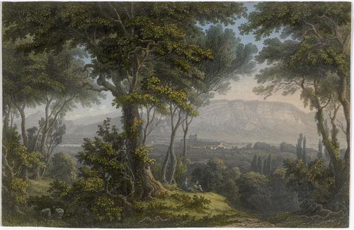 Genève vue de Saconnex
