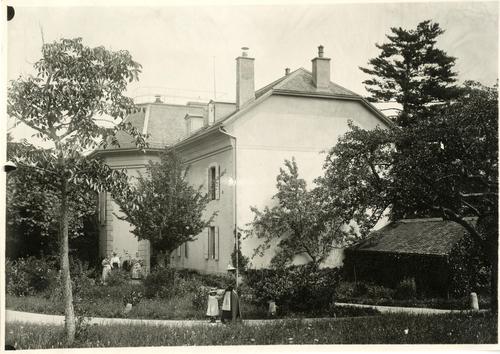 Genève, rue de Lyon: propriété Geisendorf (Surinam)