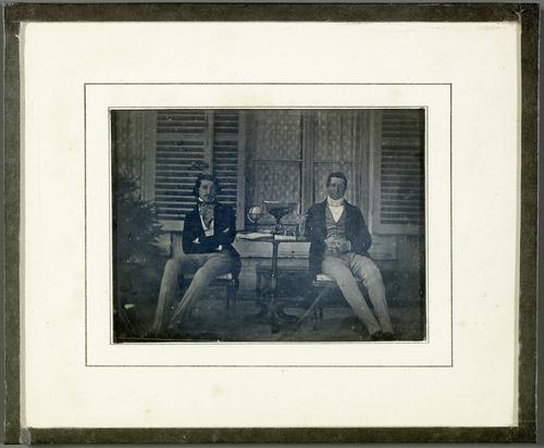 Portrait du duc Victor de Broglie et de son fils Albert