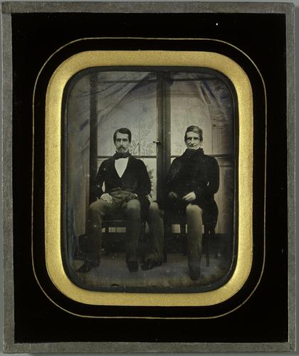 Portrait de Pellegrino Rossi et de son fils