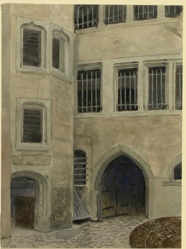 Genève, entre la rue du Rhône et la rue du Marché: cour intérieure