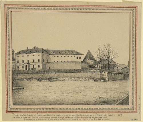 Genève, prison pénitentiaire de la tour Maîtresse