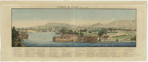 Genève vue de Saint-Jean