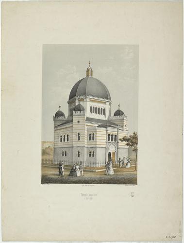 Genève, synagogue