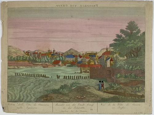 Genève, vue de Saint-Jean (vue inversée)