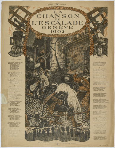 Genève, chansons de l'Escalade illustrées