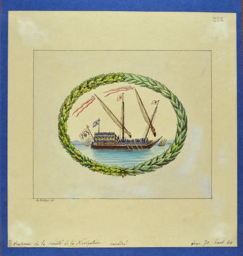 Drapeau genevois, la Société de la Navigation